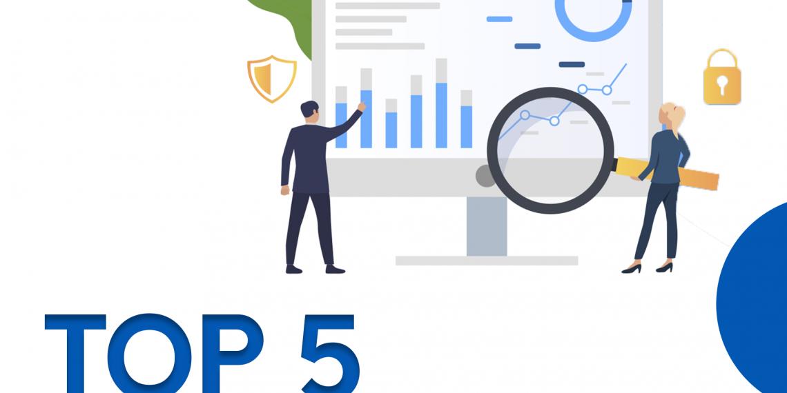 top 5 data analytics